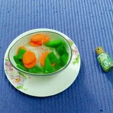 红绿粉丝汤