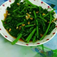 蒜香皇帝菜