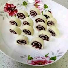 面包紫薯卷