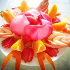 水果拼盘闹新春