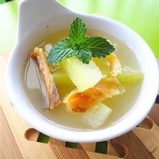 老节瓜柴鱼汤