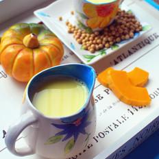南瓜牛奶豆浆