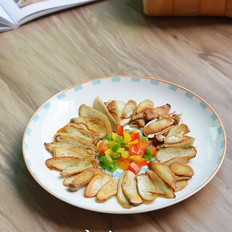 香煎黑椒杏鲍菇