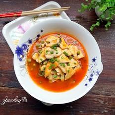酸甜爽口的番茄鱼片