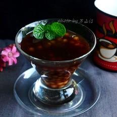 咖啡椰汁西米露