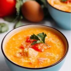 西红柿疙瘩鸡蛋汤