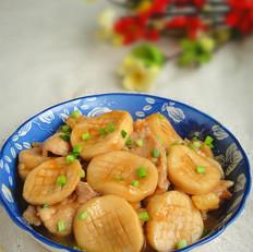 蚝油杏鲍菇炒肉片