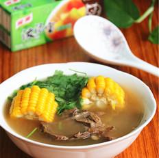 玉米牛肉汤