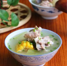 冬瓜猪骨玉米汤
