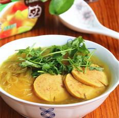 咖喱粉丝汤