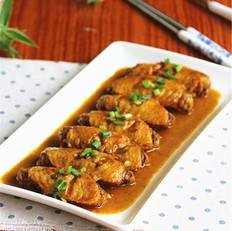 椰香咖喱鸡中翅