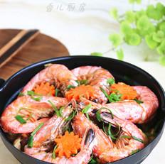 菌菇杂烩海鲜煲