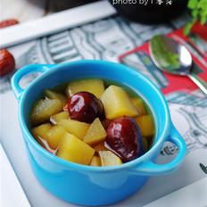 苹果红枣汤