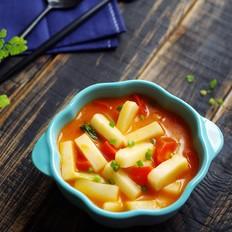 番茄年糕汤