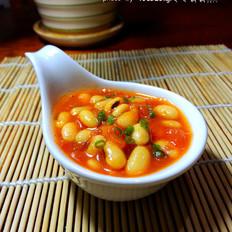 西红柿烩黄豆