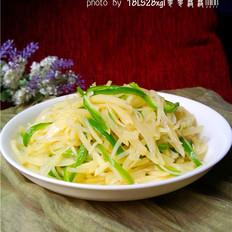 青椒土豆丝
