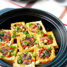 锅煲豆腐酿