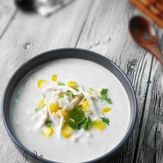 奶油玉米鸡茸浓汤