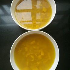 南瓜荞麦粥