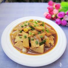 杏鲍菇烩大白菜