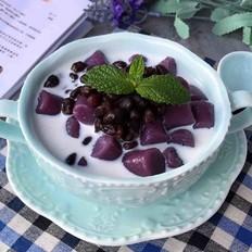 紫薯芋圆~夏日甜品