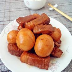 红烧肉熏鸡蛋