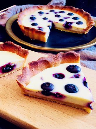 奶酪蓝莓派的做法