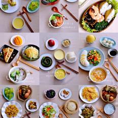愛心早餐100道!