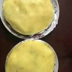 奥利奥猕猴桃桑葚酱千层蛋糕
