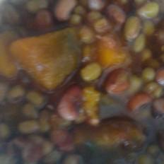 绿豆红豆南瓜粥