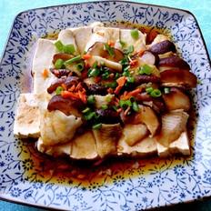 豆腐香菇蒸鲷鱼