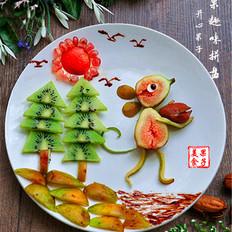 童趣水果拼盘