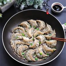 芹菜猪肉馅生煎饺子