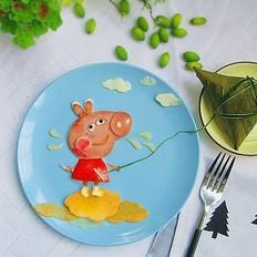 简易早餐——小猪佩奇
