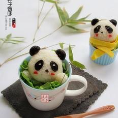 熊猫杯子儿童餐