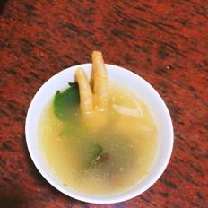 田螺鸡爪汤
