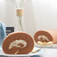 奥利奥可可蛋糕卷