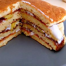 低脂全麥pancake