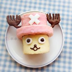 海贼王乔巴戚风蛋糕卷
