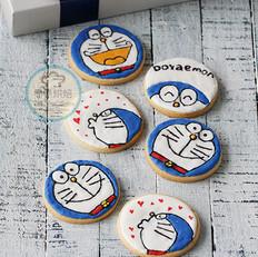多啦a梦糖霜饼干