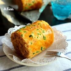 葱香肉松面包卷