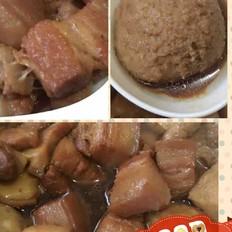 豆腐泡红烧肉