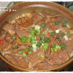 酸梅面豉猪脷煲仔饭