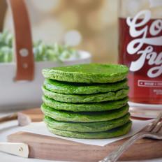 快手早餐—绿油油的青菜饼