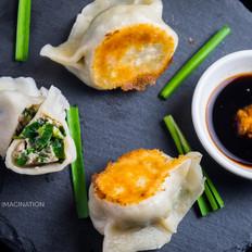 煎/煮韭菜鲜肉手工饺