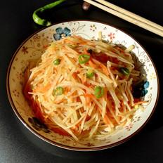 土豆丝炒胡萝卜