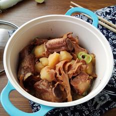 土豆栗蘑炖排骨