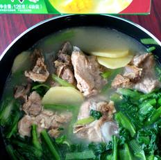 小白菜猪骨浓汤