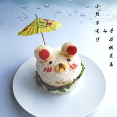 小熊鲜虾米汉堡