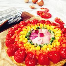 彩虹土豆丝披萨